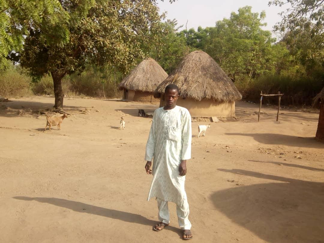 Joven fulani en Benin