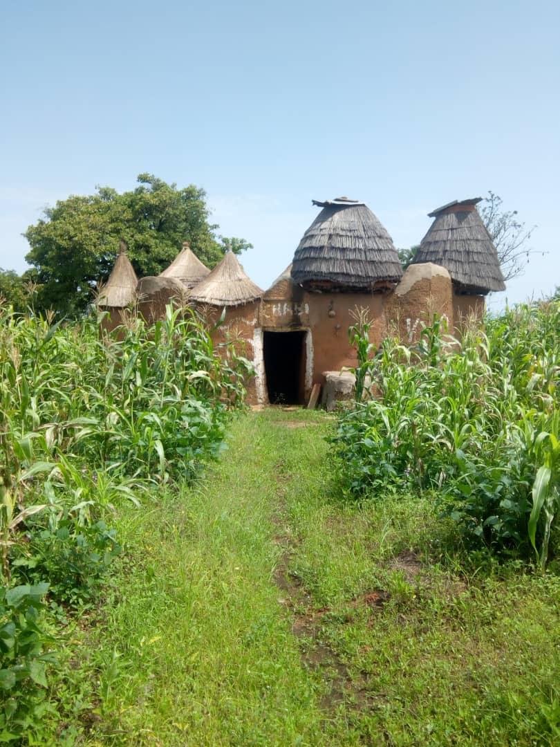 Habitación de la etnia Somba, en el norte de Benin