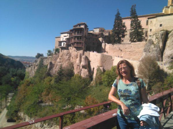 En el puente en Cuenca