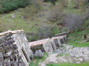 Escalera de muiños do Folón