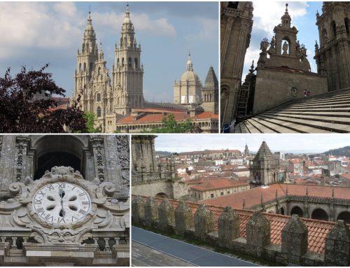 Viviendo en los tejados de la catedral de Santiago de Compostela