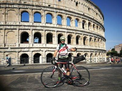 De Roma a Finisterre en bicicleta