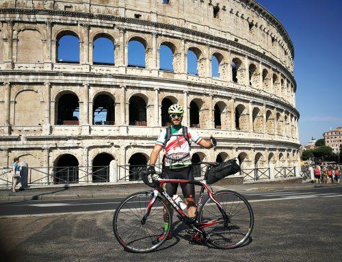 De Roma a Finisterre en bicicleta con Abel Antón