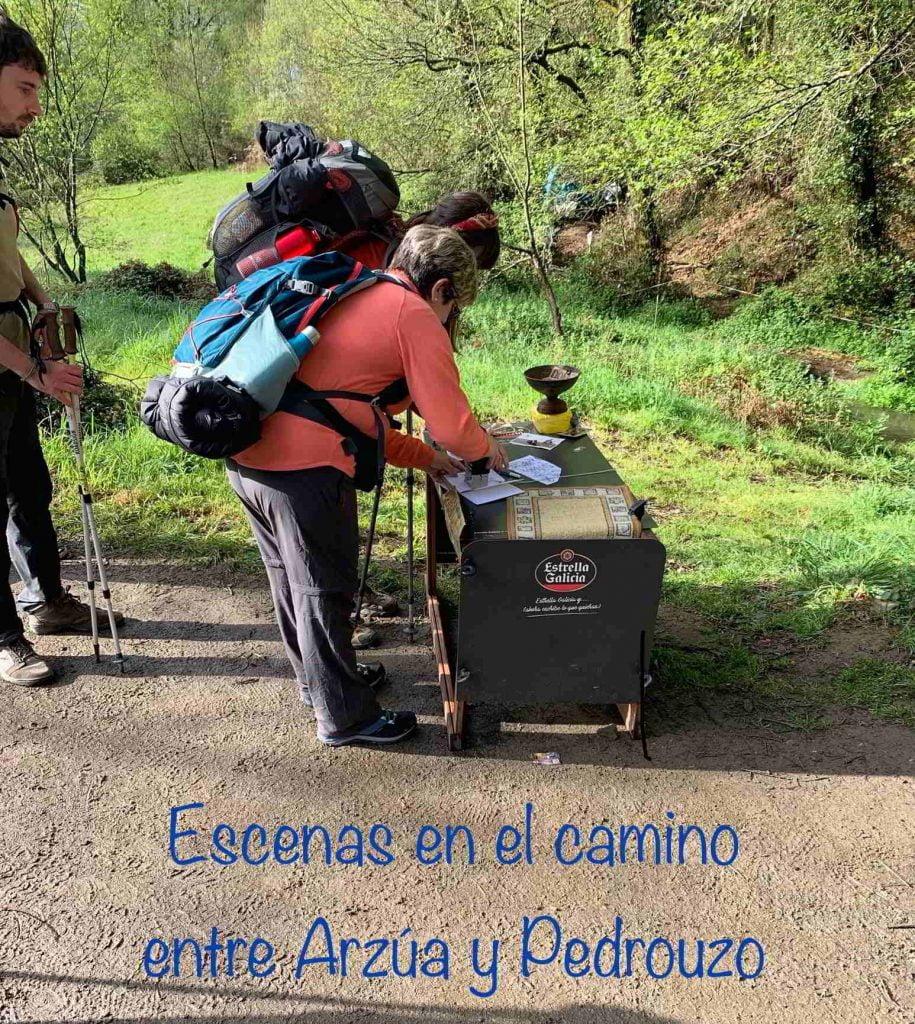 El Camino de Santiago camino francés