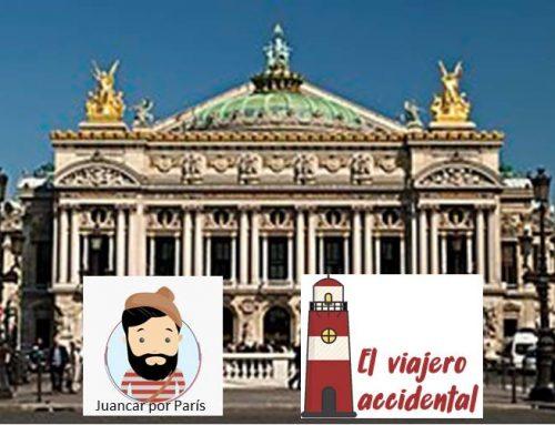 Una calle de París – Ópera Garnier
