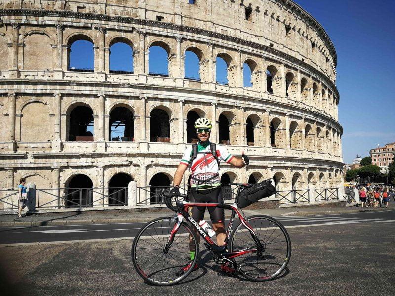 De Roma a Finisterre en bici