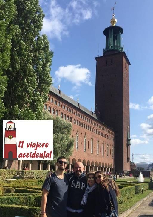 Estocolmo su ayuntamiento y los premios Nobel