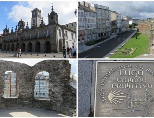 Caminando con arte por Lugo