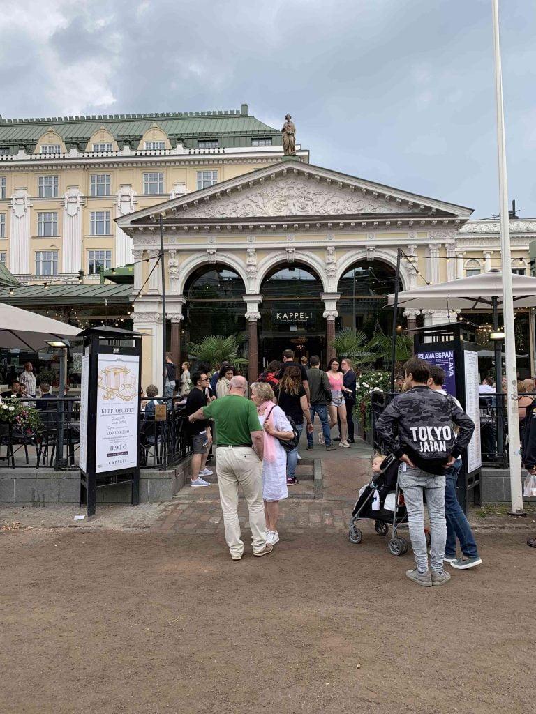 La capital de Finlandia en un día