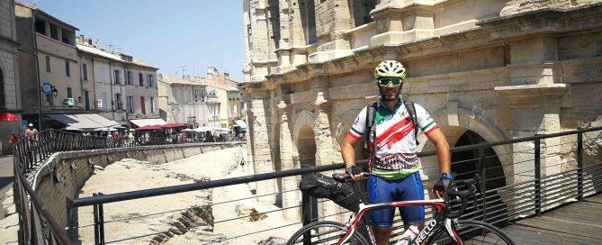 De Roma a Finisterre en bici - Francia