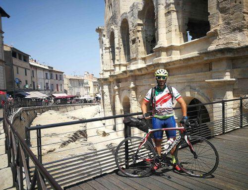 De Roma a Finisterre en bici – Francia