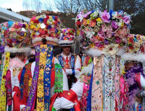 El carnaval de Cobres: Madamas y Galáns, en la ría de Vigo