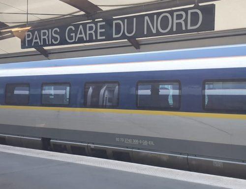 De Edimburgo a Madrid en Tren