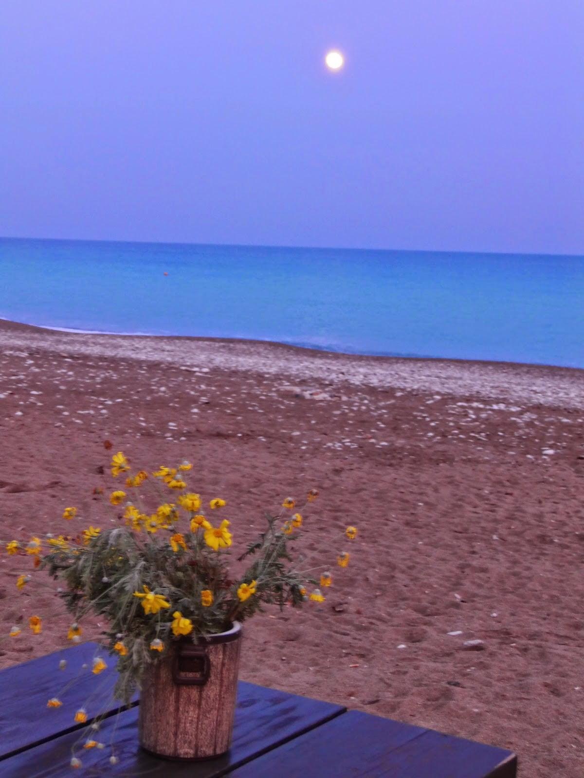 La costa Licia en Turquía