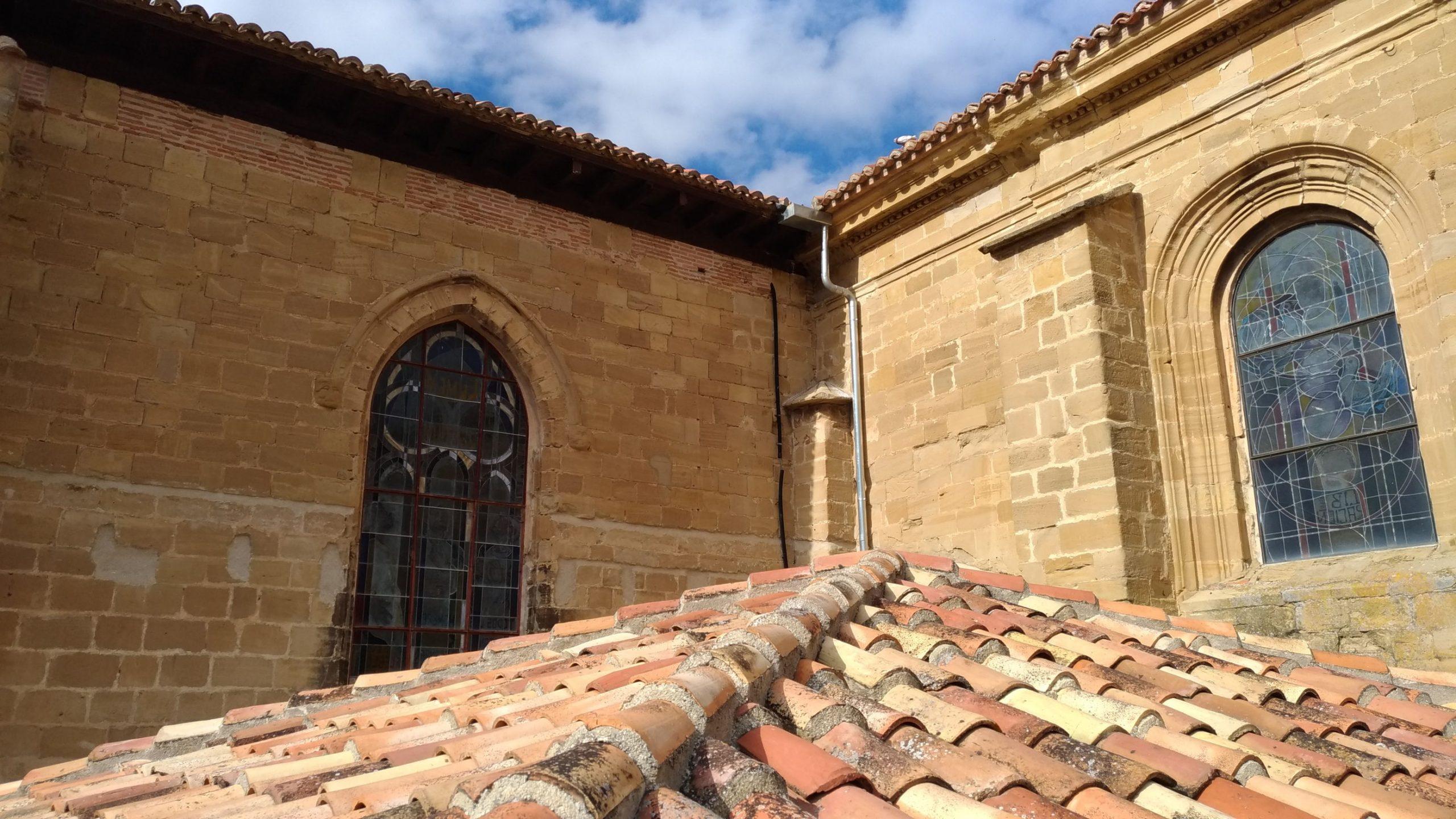 Tejados Catedral de Santo Domingo de la Calzada