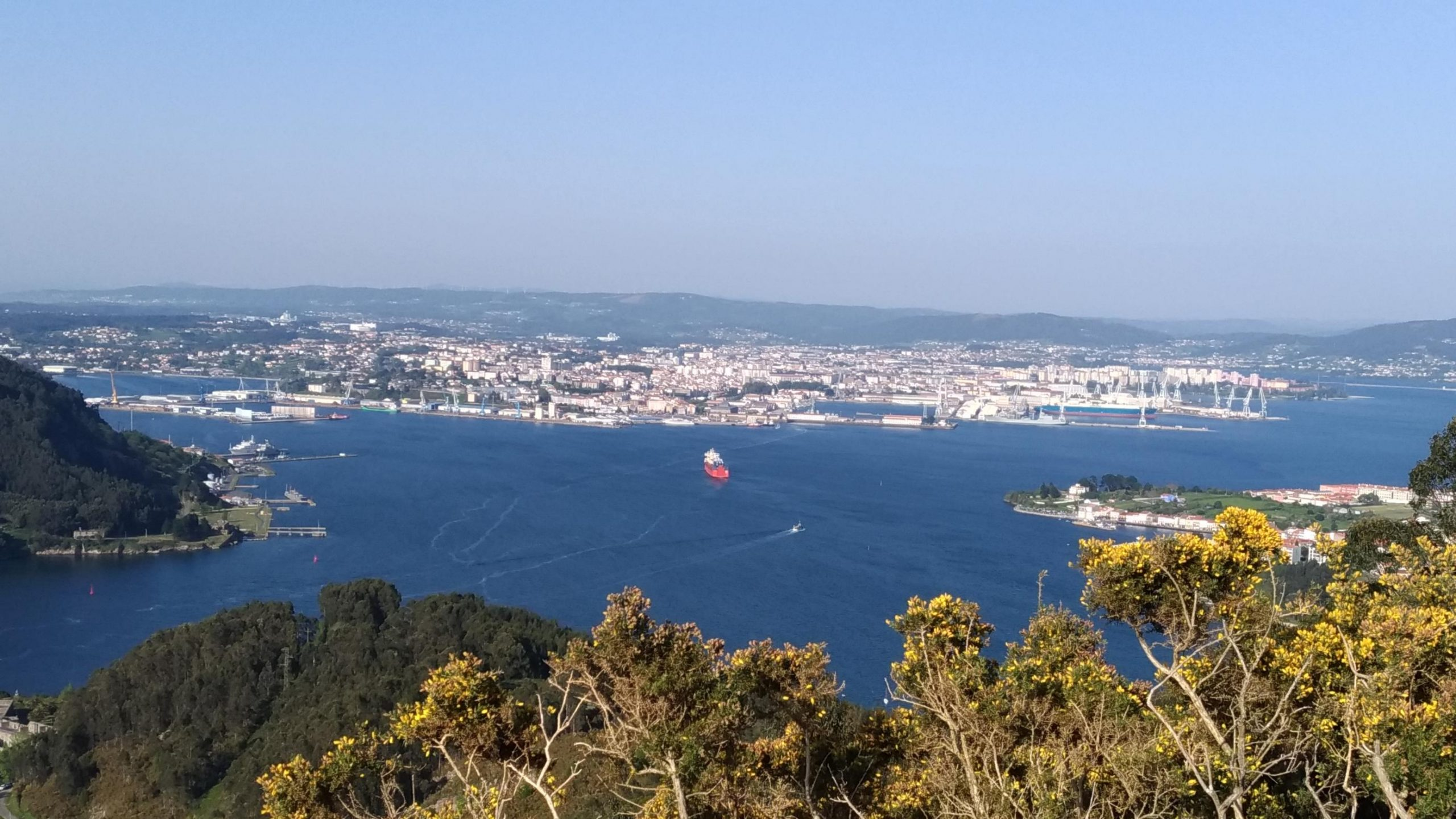 Vista desde Montefaro