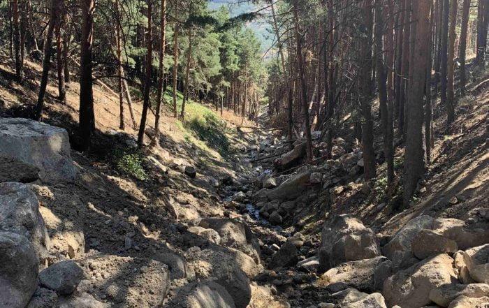 Miraflores de la Sierra en verano