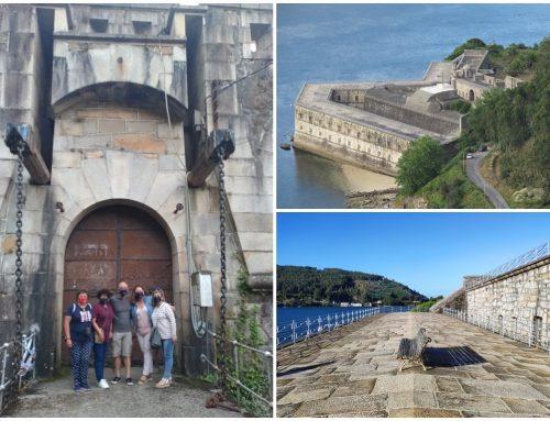 Visita al Castillo de La Palma en Mugardos, en la Ría de Ferrol