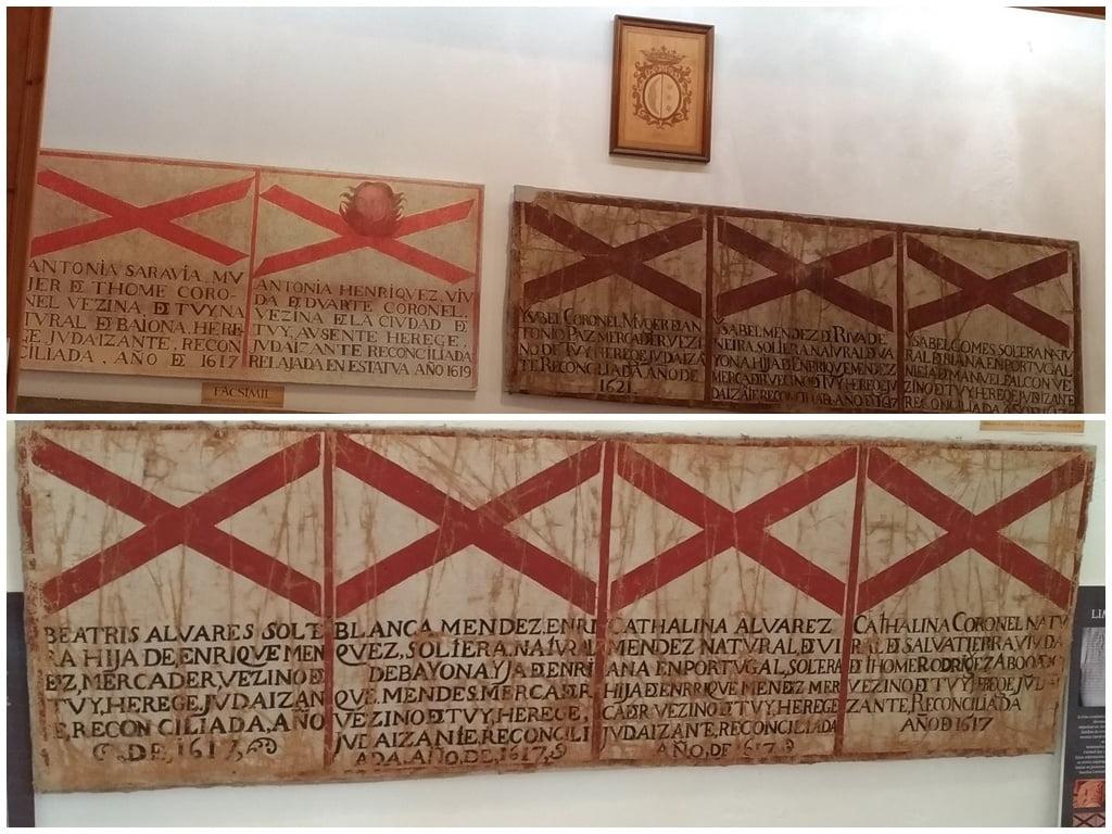 Sambenitos de Tui en Pontevedra