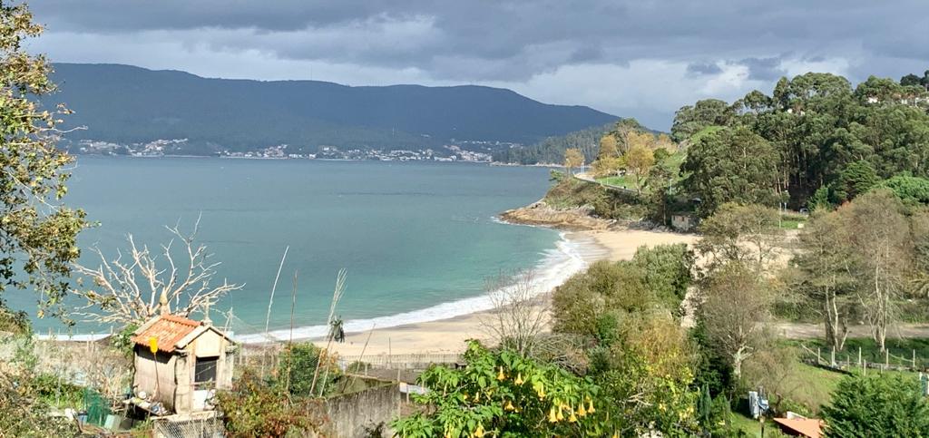 Vista de la playa de Mogor