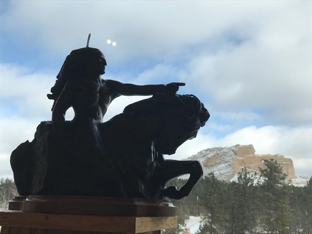 Memorial Caballo Loco en las Black Hills
