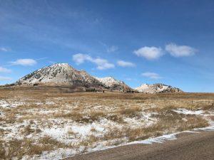 Llegando a Bear Butte State Park