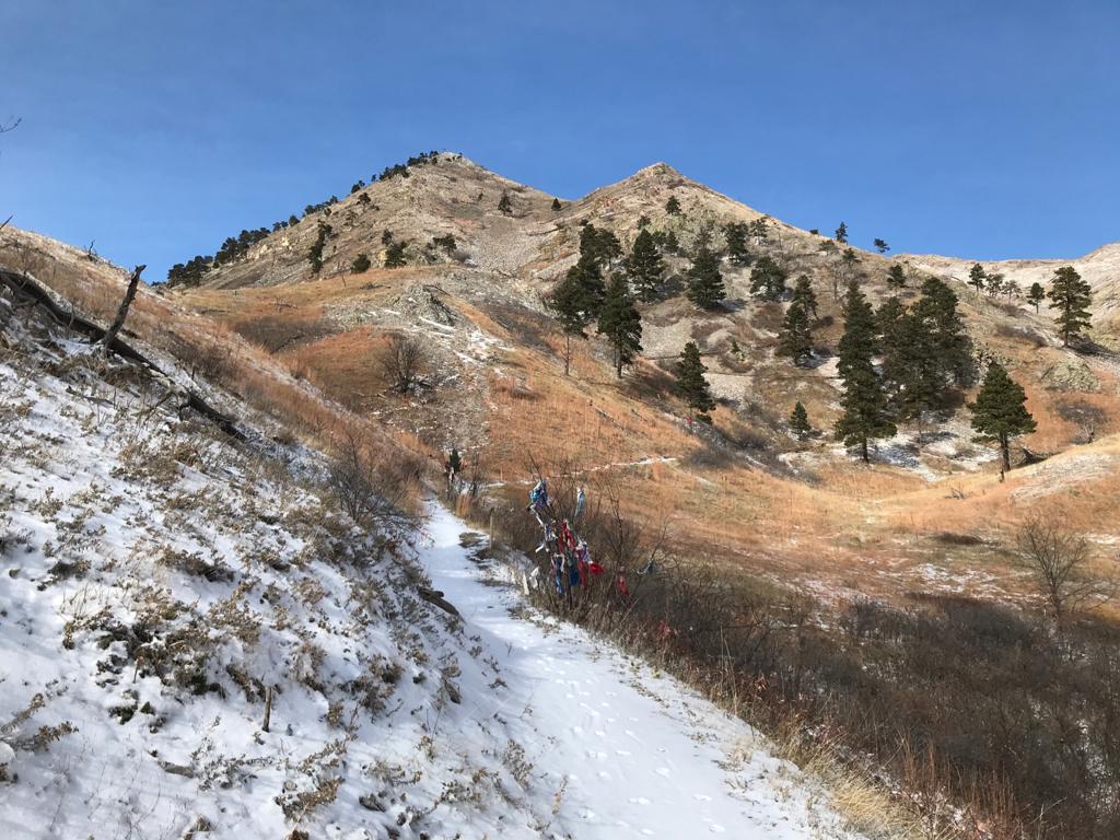 Panorámica de Bear Butte State Park