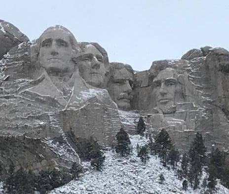 En el Rushmore Memorial