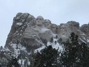 Los 4 presidentes en el Rushmore Memorial