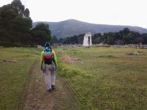Entrando en Grecia por el Pireo