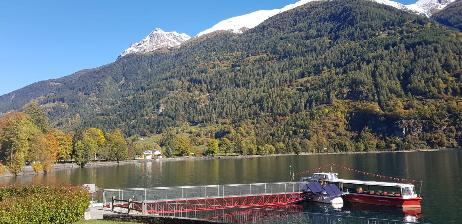 Paisajes desde el tren Bernina Express