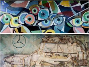 Murales del pintor Jose Ramon