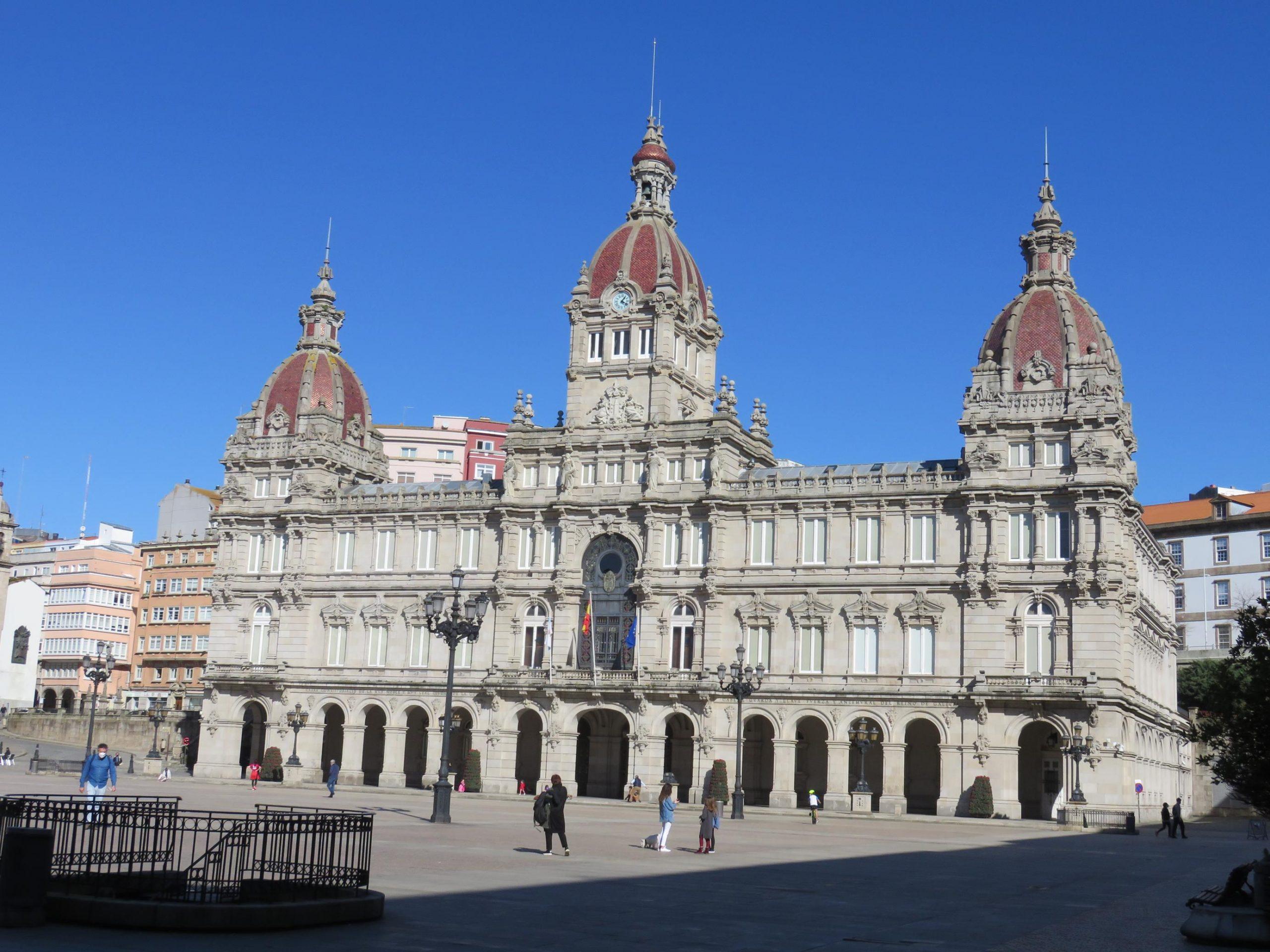 Paseo por Coruña con José Ramón