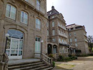 Edificio del Gran Hotel en Mondariz Balneario