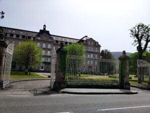 Fachada Gran Hotel en Mondariz Balneario