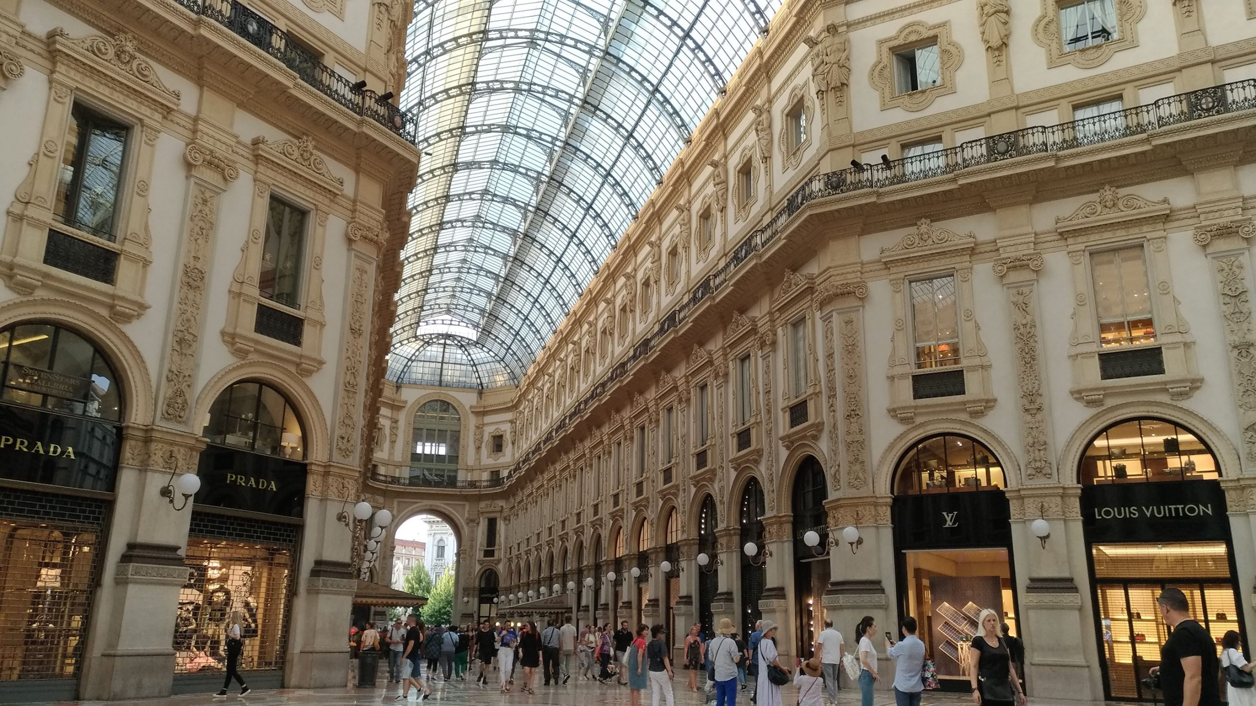 Galería Vittorio Emanuele II en Milán