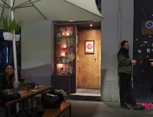 En Milán conociendo el Backdoor 43, el bar más pequeño del mundo
