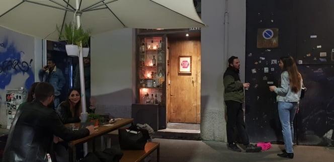 El Backdoor 43 en Milán
