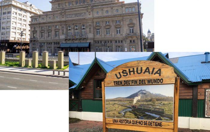 Argentina con Pilar Monforte: Ushuaia y Buenos Aires